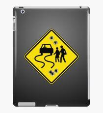 Swerve Ahead - Black iPad Case iPad Case/Skin