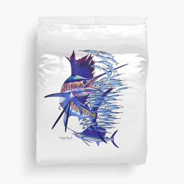sailfish ballyhoo Duvet Cover
