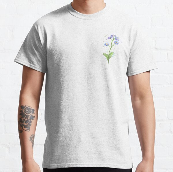 Forget Me Nots wild flowers Classic T-Shirt