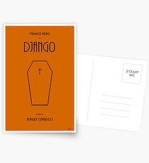 Django custom movie poster Postcards
