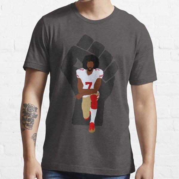 Colin Kaepernick Noir Power Football Américain Genou T-Shirt