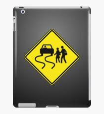 Swerve Ahead - Plain - Black iPad Case iPad Case/Skin