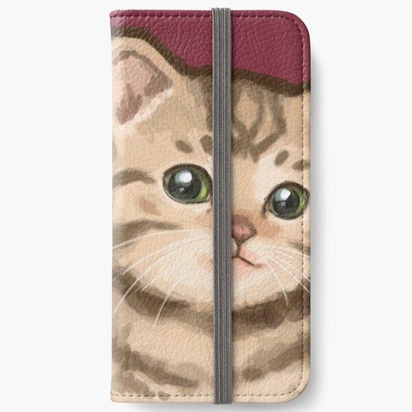 Bobo Kitteh iPhone Flip-Case
