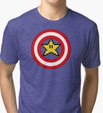 Captain Mario Tri-blend T-Shirt