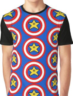 Captain Mario Graphic T-Shirt