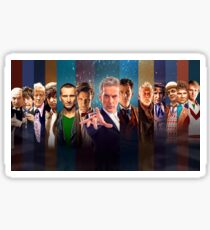 Dr. Who - Doctors Sticker