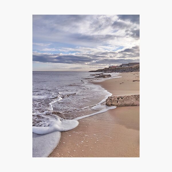 Waves breaking Photographic Print
