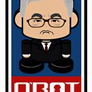 Saber Tooth Politico'bot Toy Robot 2.0 by Carbon-Fibre Media
