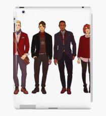 winter fashions caws crew iPad Case/Skin