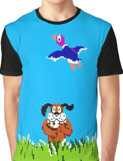Duck Hunt All Over Print T-shirt Adults