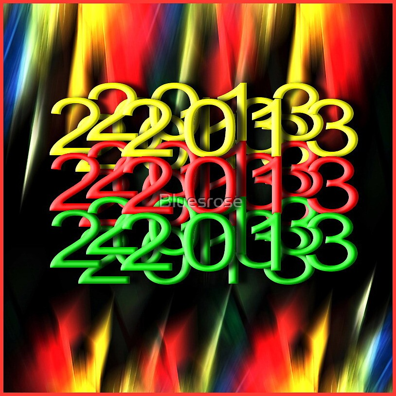 Happy 2013 to all! by Bluesrose
