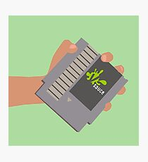 Vsauce outro NES cartridge Photographic Print