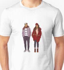 the twins winter fashion Unisex T-Shirt