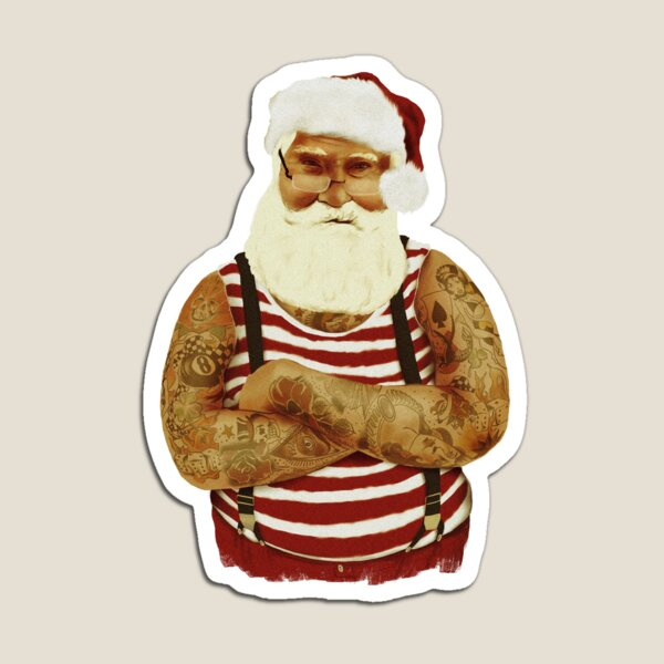 Old School Santa Magnet