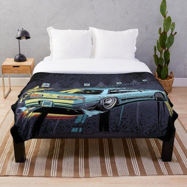 Silvia s13 touge drift Throw Blanket