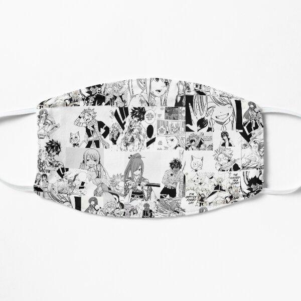 Fairy Tail Manga Collage  Flat Mask