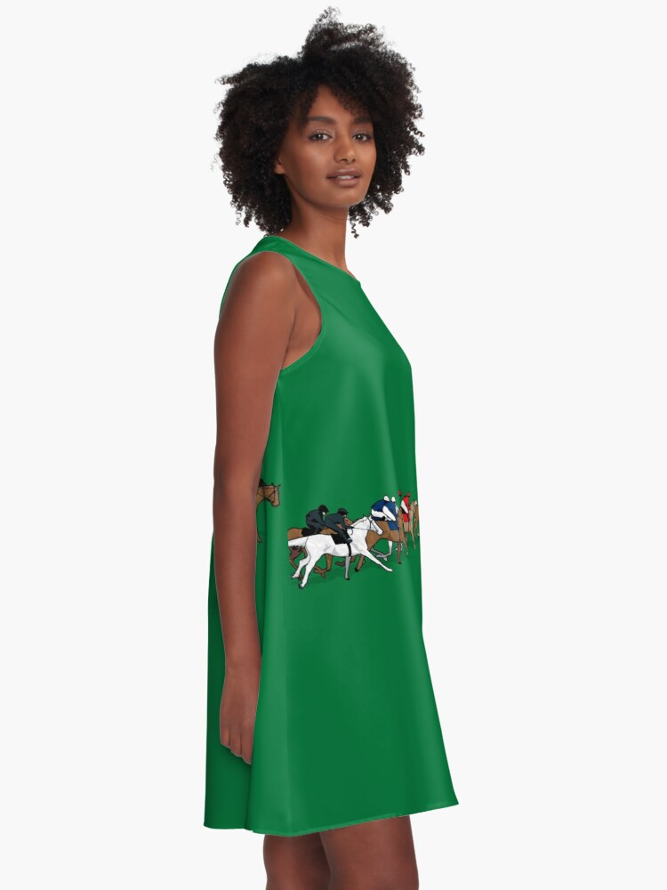 Alternate view of The Horse Race A-Line Dress