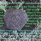 Berilliamyx Amethyst (beryl-like new find) by Amyx by aaron a amyx