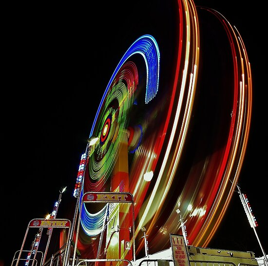 Carnival time by Len  Gunther