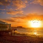 Worthing Beach Sunrise 5 - Boxing Day 2012 - HDR by Colin  Williams Photography