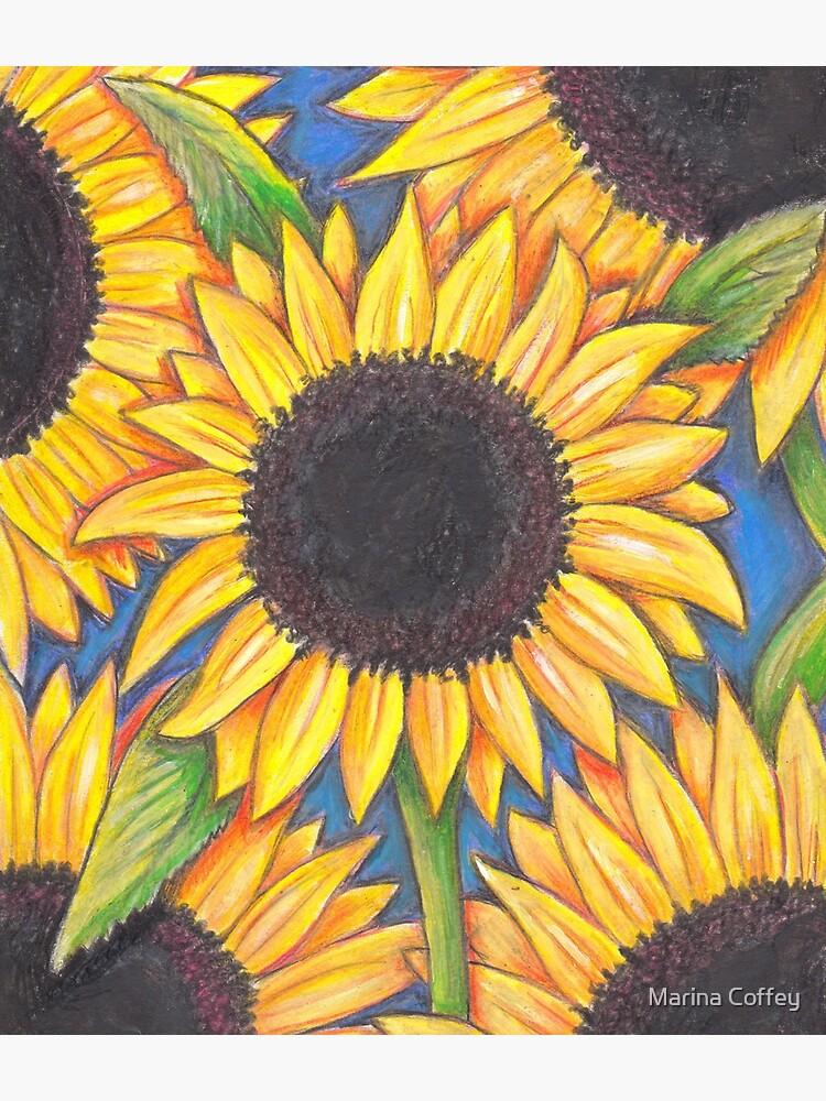 Sunflowers by MarinaC41
