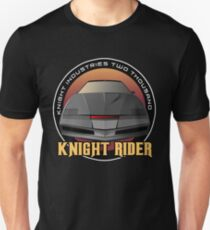 Knight Rider Logo KITT Car T-Shirt