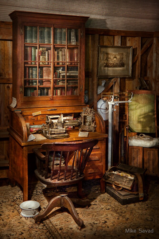 Doctor - My tiny little office by Michael Savad