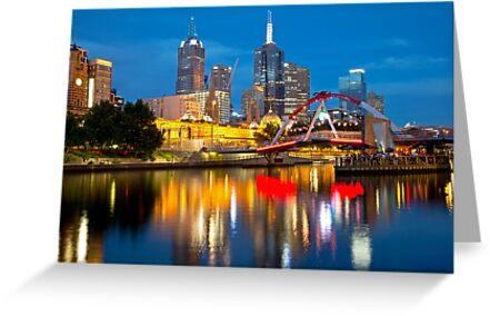 Melbourne at Christmas by Cameron B