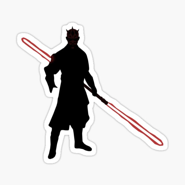 Old Master Maul Sticker