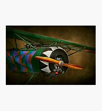 Pilot - Plane - German WW1 Fighter - Fokker D VIII Photographic Print