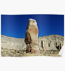 Chimney Rock, Kodachrome Basin State Park, Utah Poster