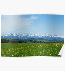 Alps, Germany Poster