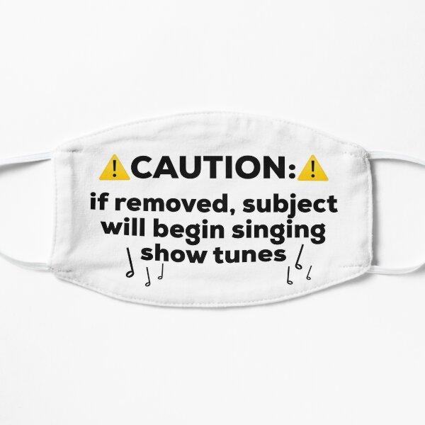 Show Tunes Mask Flat Mask