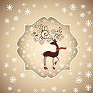 Winter Visitor by David & Kristine Masterson