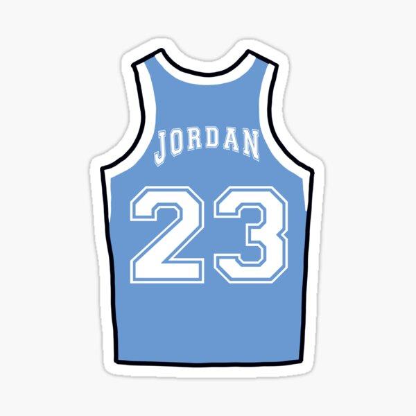Kanler Coker North Carolina Basketball Jersey - Light Blue