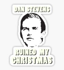 Dan Stevens Ruined Christmas Sticker