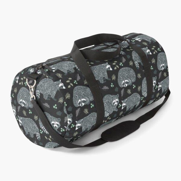 Raccoons! Design 42 / 365 Days of Design Duffle Bag