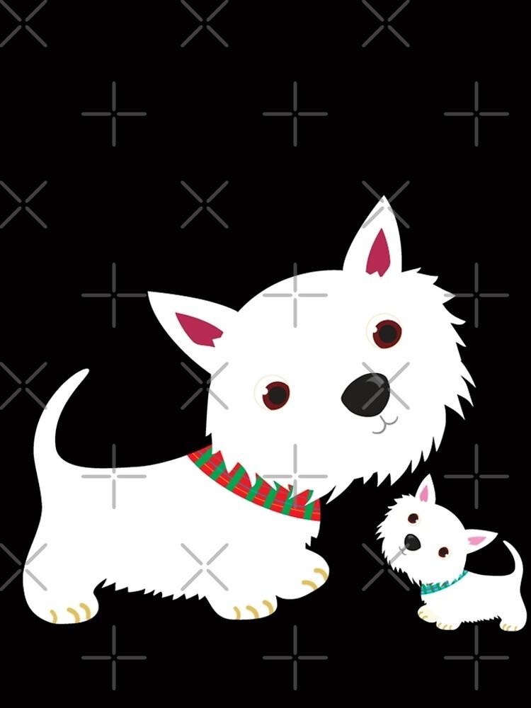Westie & Pup by BonniePortraits