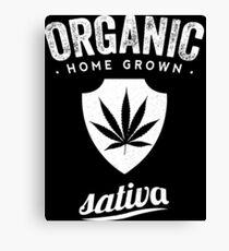 Sativa Organic Canvas Print