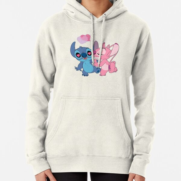 titch and angel double kiss Pullover Hoodie