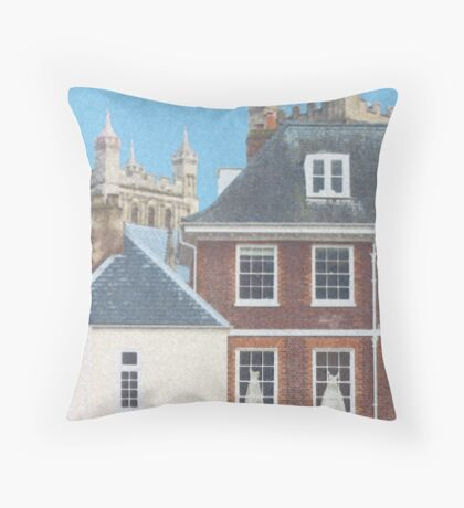 Waiting for the Wedding Throw Pillow