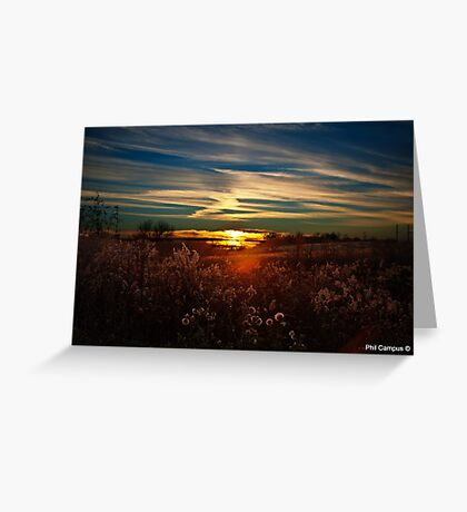 Sunset in Kentucky Greeting Card