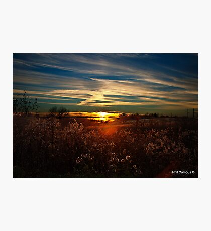 Sunset in Kentucky Photographic Print