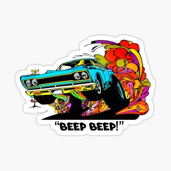 1968 Plymouth GTX artwork Sticker