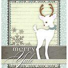 Yule Reindeer by David & Kristine Masterson