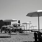 On the beach by Larry McLean