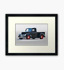 1940 Ford Deluxe 8 Pickup Framed Print