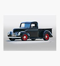 1940 Ford Deluxe 8 Pickup Photographic Print