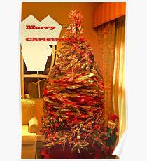 Magical elf tree Poster