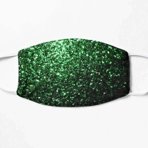 Beautiful Glamour Dark Green glitter sparkles Mask